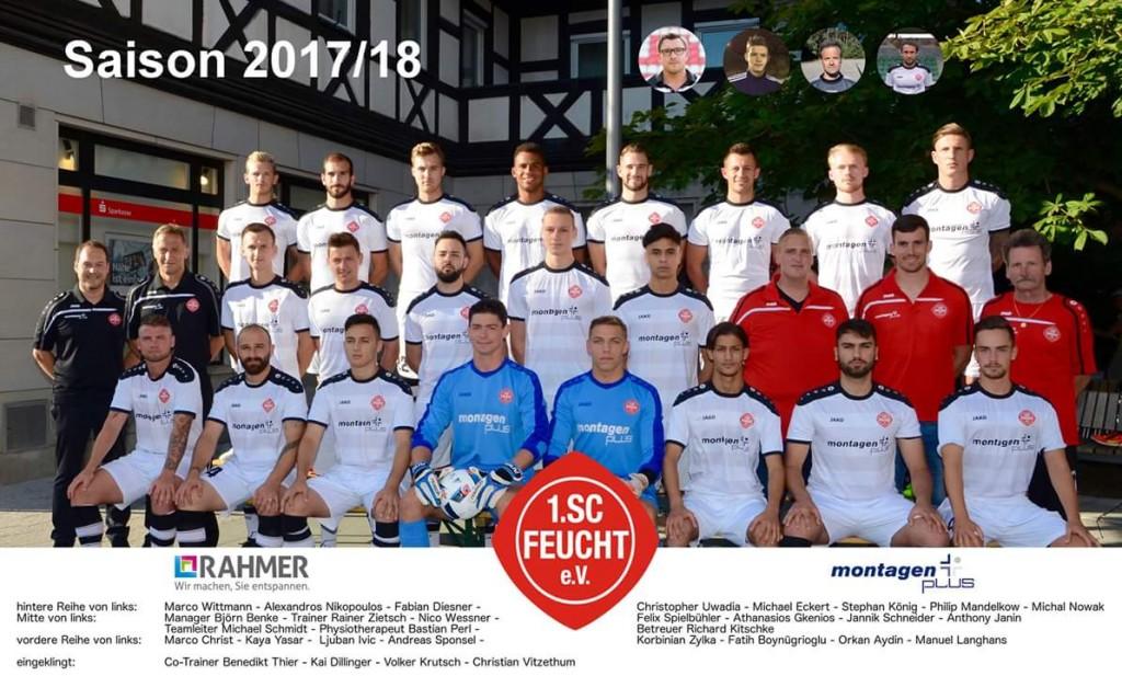 1. Mannschaft SC Feucht 2017/18