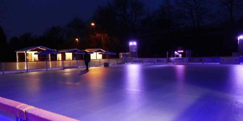 Ice Freude Feucht – SC Feucht veranstaltet Eislaufen auf dem Feuchter Kirchweihplatz