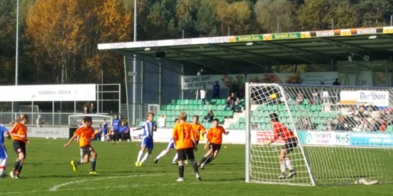"""U13 Derbysieger gegen die """"Blues"""" & Tabellenführer der BOL"""