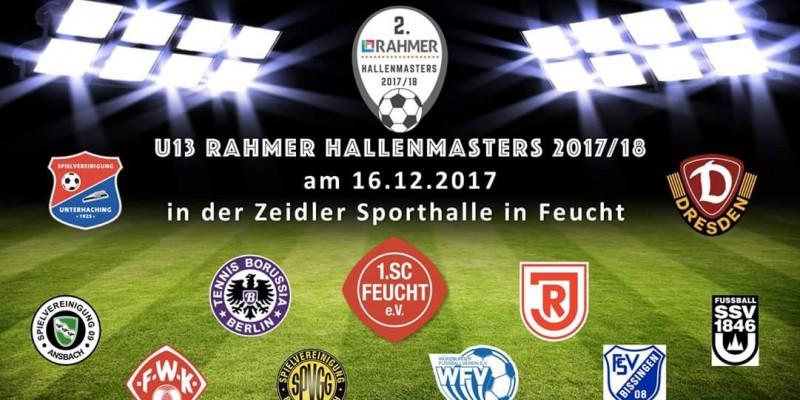 Topbesetzte Rahmer Hallenmasters U13 + U14 am 16.12.17 – 17.12.17 in Feuchter Zeidlerhalle