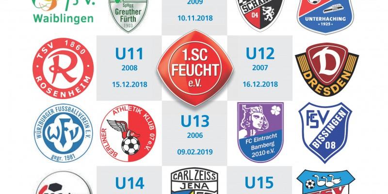Rahmer Hallenmasters: Bundesliga Nachwuchs in der Zeidlerhalle: 09.02.19 / 10.02.19