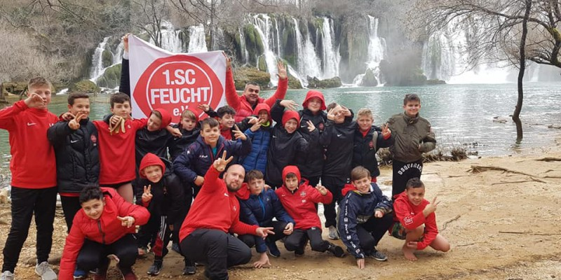 Trainingslager 1. SC Feucht U12-Junioren in Medjugorje (BIH)