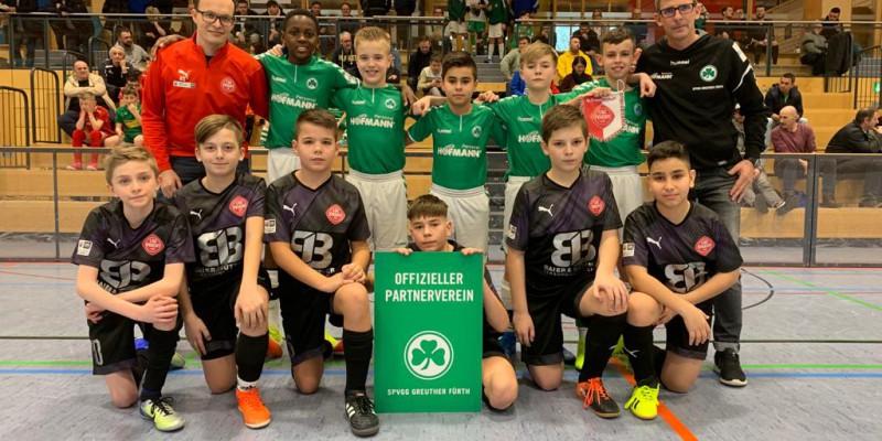 Jugendpartnerschaft zwischen der SpVgg Greuther Fürth und dem 1. SC Feucht