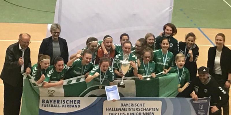 Leni Fohrer gewinnt U15 Bayrische Meisterschaft der Mädchen